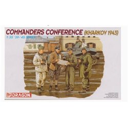 DRAGON 6144 1/35 Commanders Conference (Kharkov 1943)