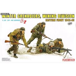 DRAGON 6372 1/35 Winter Grenadiers, Wiking Division Eastern Front 1943-45