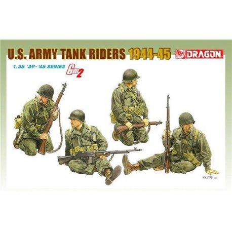 DRAGON 6378 1/35 U.S. Army Tank Riders 1944-45