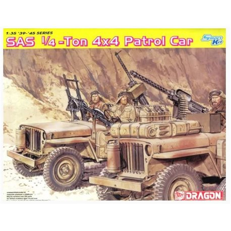DRAGON 6745 1/35 SAS 1/4-Ton 4x4 Patrol Car
