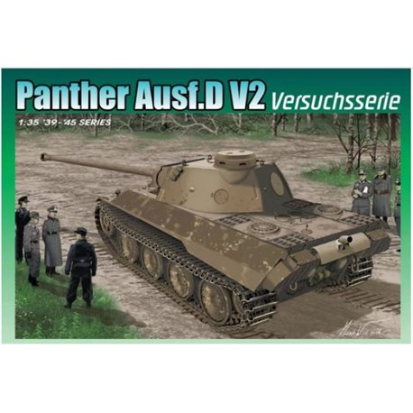 DRAGON 6830 1/35 Panther Ausf.D V2 Versuchsserie