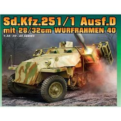 DRAGON 6861 1/35 Sd.Kfz.251 Ausf.D with 28/32cm Wurfrahmen 40 (2 in 1)