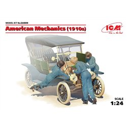 ICM 24009 1/24 American mechanics 1910s 3 Figurines – 3 figures