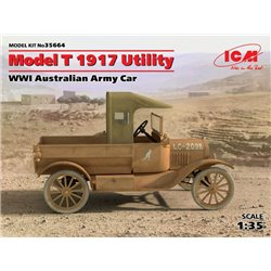 ICM 35664 1/35 Model T 1917 Utility, WWI Australian Army Car
