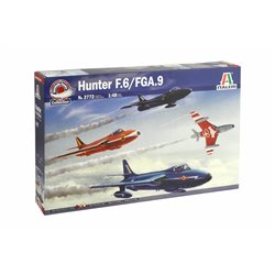 ITALERI 2772 1/48 HUNTER F.6/FGA.9 Force Aérienne Belge