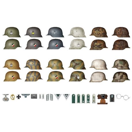 Miniart 35247 1/35 WWII Military Miniatures Series German Infantry Weapons & Equipment