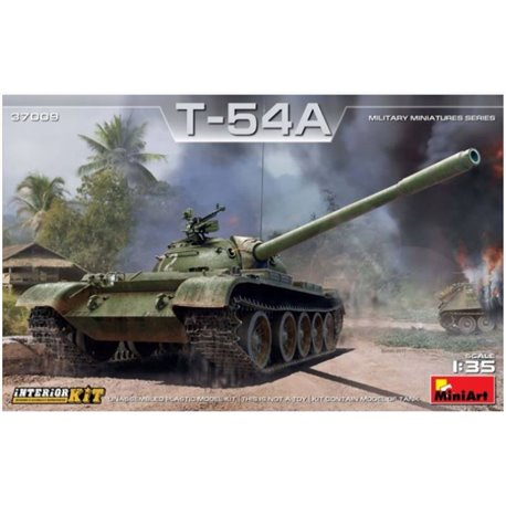 Miniart 37009 1/35 Soviet Medium Tank T-54A Interior Kit