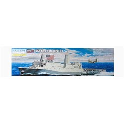 MRC Gallery Models 64007 1/350 USS New York LPD-21