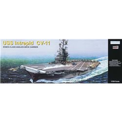 MRC Gallery Models 64008 1/350 USS Intrepid CV11 ESSEX-CLASS ANGLED-DECK CARRIER