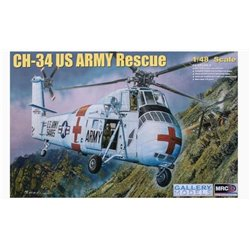 MRC Gallery Models 64103 1/48 CH-34 US Army Rescue