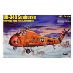 MRC Gallery Models 64106 1/48 UH-34D Seahorse Operation Deep Freeze, Antarctica