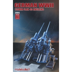 Modelcollect UA72098 1/72 German WWII 128mm Flak 40 Zwilling