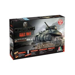 ITALERI 36503 1/35 M4 Sherman World of Tanks