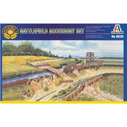ITALERI 6030 1/72 Battlefield Accessory Set