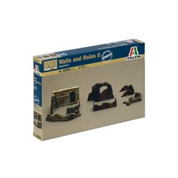 ITALERI 6090 1/72 Walls and Ruins II World War II