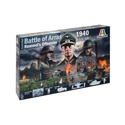 ITALERI 6118 1/72 1940 Battle Of Arras - Rommel's Offensive