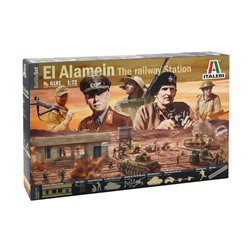 ITALERI 6181 1/72 El Alamein: battle at the Railway Station Battle Set