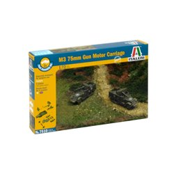 ITALERI 7510 1/72 M3 75mm Gun Motor Carriage 2pcs
