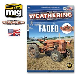 AMMO OF MIG A.MIG-4520 The Weathering Magazine Faded English