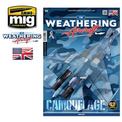 AMMO OF MIG A.MIG-5206 The Weathering Aircraft Issue 6 Camouflage Anglais