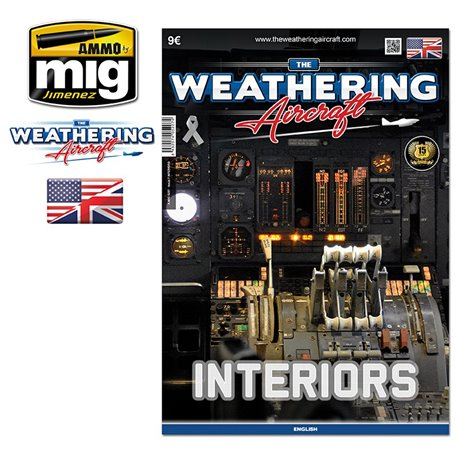 AMMO OF MIG A.MIG-5207 The Weathering Aircraft Issue 7 Interior Anglais