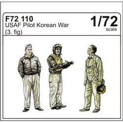 CMK F72110 1/72 Pilots Korean War 3 fig