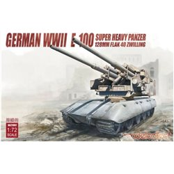 Modelcollect UA72097 1/72 German WWII E-100 Super Heavy Panzer