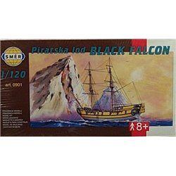 SMER 0901 1/120 Piratska lod Black Falcon Pirate Ship