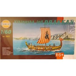 SMER 0902 1/64 Viking Ship Drakkar