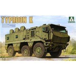 "Takom 2082 1/35 Russian MRAP KAMAZ-63968 ""Typhoon-K"" with cab & cabin interior"