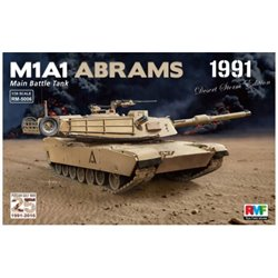 "Rye Field Model RM-5006 1/35 M1A1 Abrams ""Desert Storm edition 1991"""
