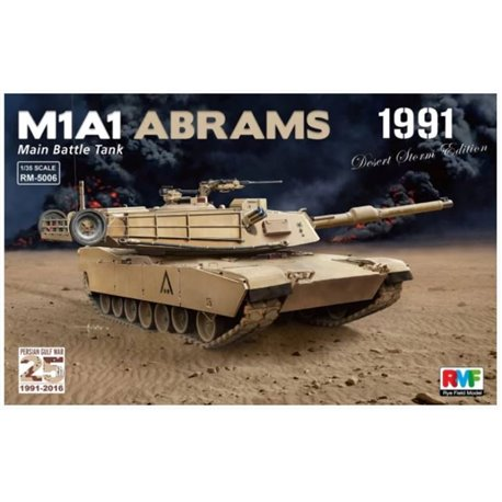 "Rye Field Model RM-5006 1/35 M1A1 Abrams ""Desert Storm edition 1991"""