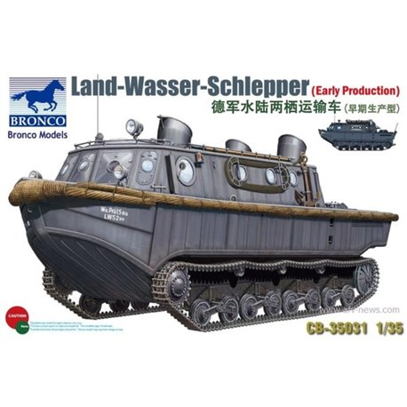 BRONCO CB35031 1/35 Land Wasser Schlepper Early Production