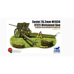 BRONCO CB35045 1/35 Soviet 76.2mm M1936 (F22) Divisional Gun