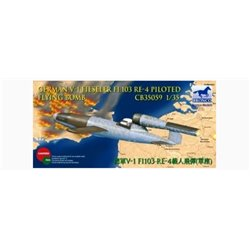 BRONCO CB35059 1/35 German V-1 Fieseler Fi-103 Re-4 Piloted Flying Bomb