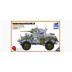 BRONCO CB35081SP 1/35 Humber Armored Car Mk.IV Full interior transparent edition