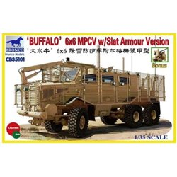 BRONCO CB35101 1/35 Buffalo 6x6 MPCV w/Slat Armour Version