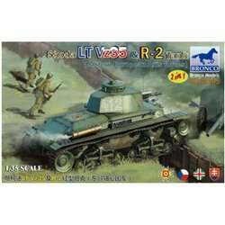 BRONCO CB35105 1/35 Skoda LT Vz35 & R-2 Tank (2 in 1) Eastern European Axis forces