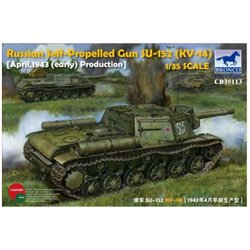BRONCO CB35113 1/35 Russian Self-Propelled Gun SU-152 (KV-14)