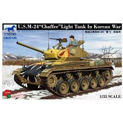 BRONCO CB35139 1/35 U.S. M-24 Chaffee Light Tank in Korean war