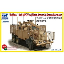 BRONCO CB35145 1/35 'Buffalo' 6x6 MPCV w/Slat Armor & Spaced Armor