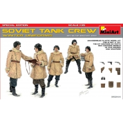 Miniart 35244 1/35 Soviet Tank Crew Winter Uniforms Special edition