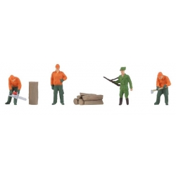 Faller 150935 HO 1/87 Ouvriers forestiers - Forestry workers