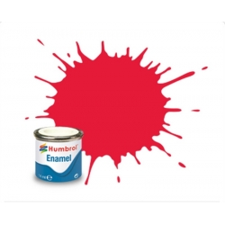 HUMBROL Peinture Enamel 238 Arrow Red Gloss - 14ml Enamel Paint