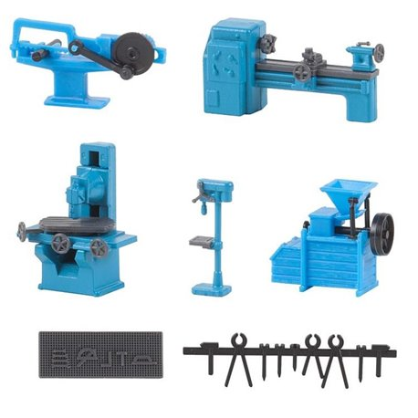 Faller 180456 HO 1/87 Équipement de serrurerie - Locksmith's shop equipment