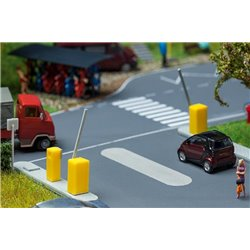 Faller 180942 HO 1/87 Barrière de parking - Parking barrier