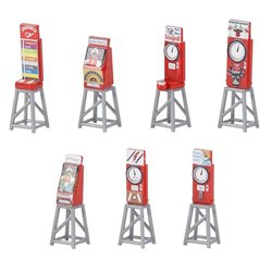 Faller 180946 HO 1/87 7 Funfair slot machines