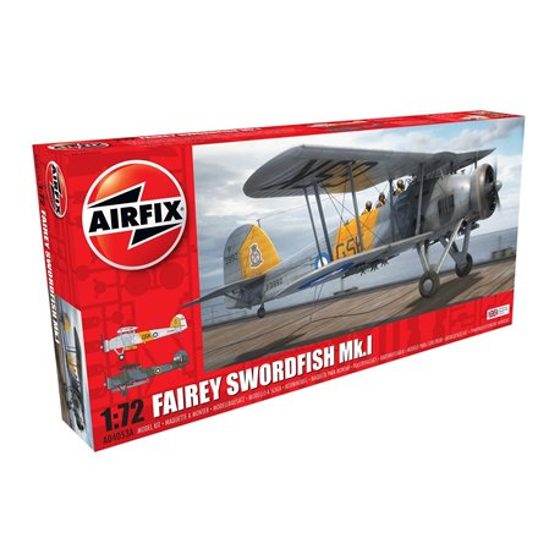 AIRFIX A04053A 1/72 Fairey Swordfish Mk.I