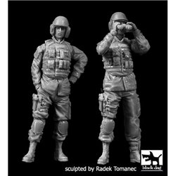 Black Dog F35137 1/35 US modern tank Crew Set