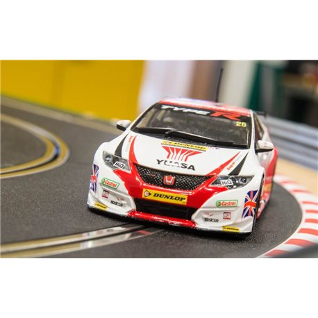 SCALEXTRIC C3734A 60th Anniversary BTCC Honda Civic Type R